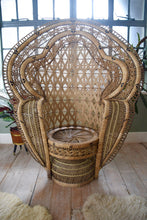 Rare Iconic Original Peacock Chair Emmanuelle Chair