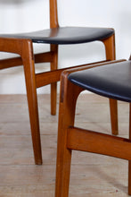 Vintage Danish Erik Buch Dining Chairs for Anderstup Møbelfabrik