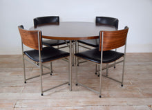 Mid Century Rosewood Dining Table and Chairs By Cees Braakman for Pastoe