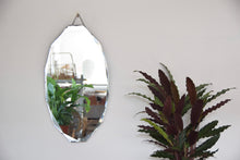 Oval Bevelled Edged Mirror