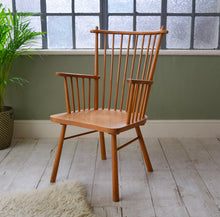 Vintage Stick Back Armchair