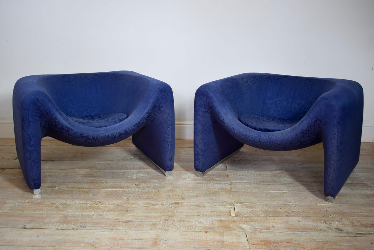Pair of 1970's Fred Scott 'Flavius' Chairs Designed For Hille London