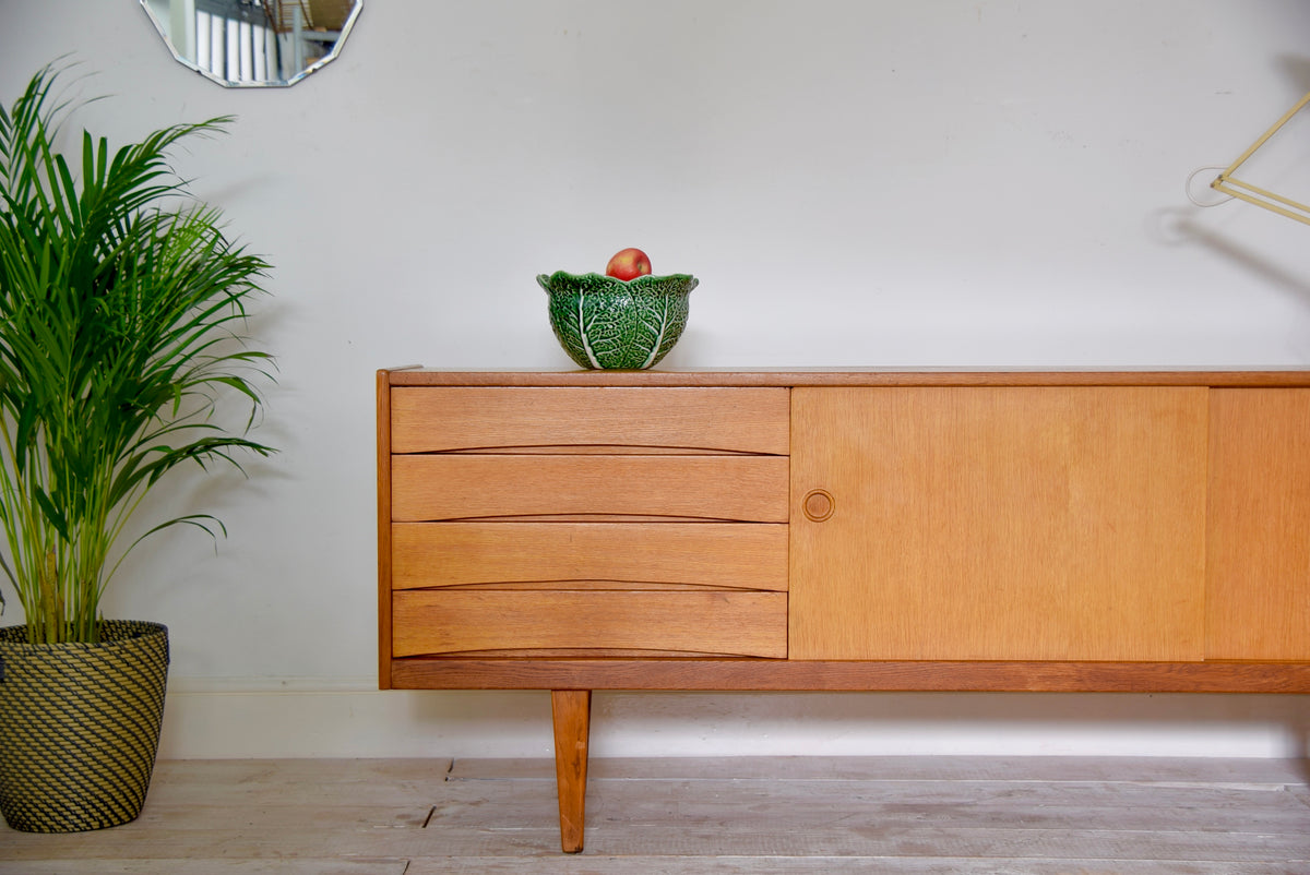 1970's Danish Arne Vodder Oak Sideboard