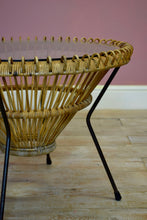 Wicker Coffee Table By Franco Albini