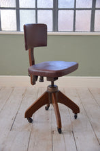 Vintage Captain's Desk Chair