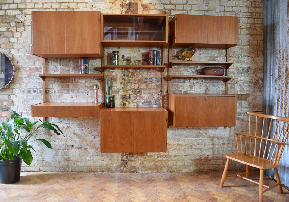 Danish PS Modular Wall Shelving System By Peter Sorensen