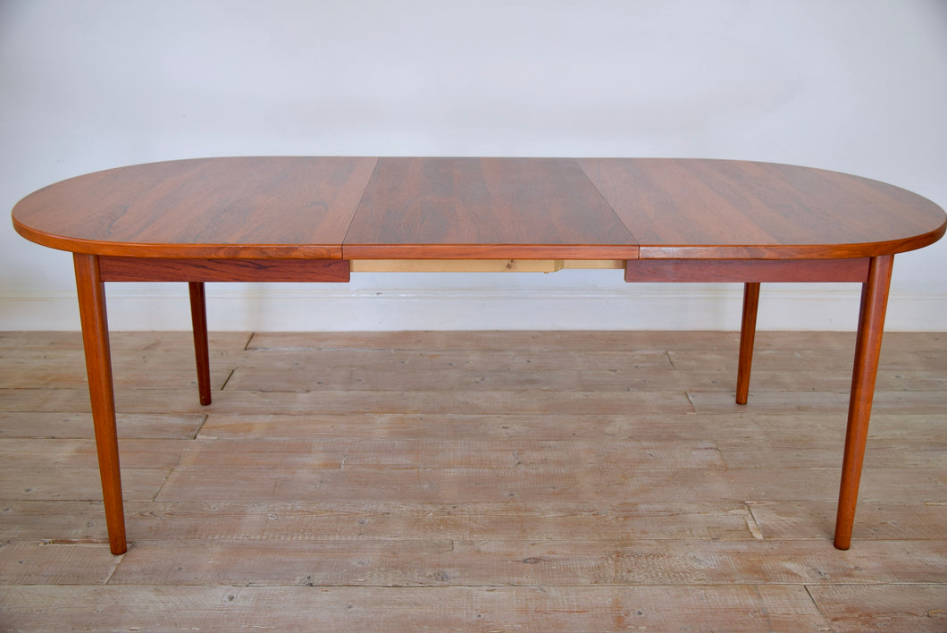 2.5 Meter Extending Rosewood Dining Table By Nils Jonsson For Troeds