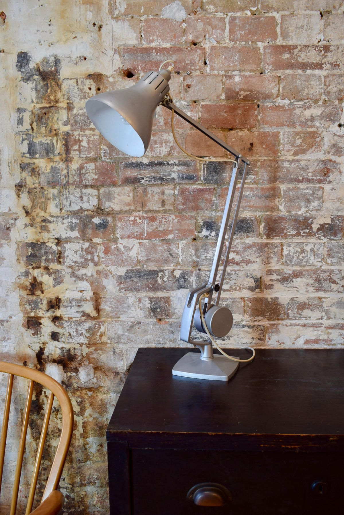 Horstmann And Hadrill Industrial Desk Lamp