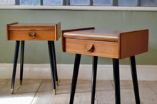 Vintage Pair Of Bedside Tables