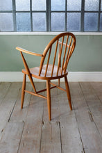 Vintage Ercol 370 Blonde Arm Chair 1950's Dining Chair