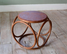 Vintage Bentwood Stool By Thonet