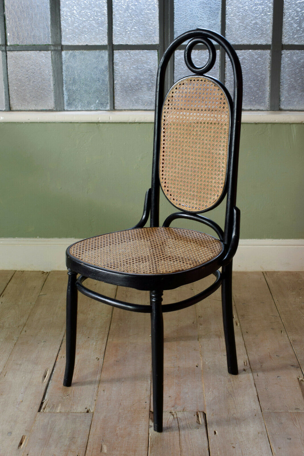 Bent Wood Thonet Model 17 Dining Chair
