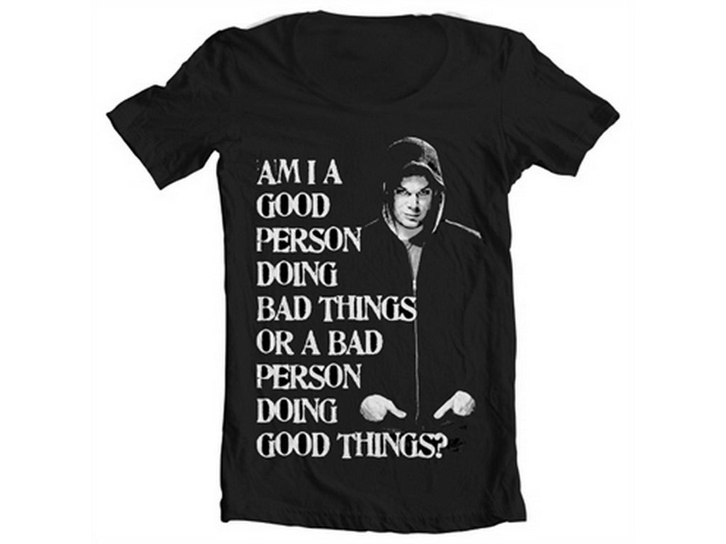 Bad Person Doing Good Things Wide Neck T-Shirt