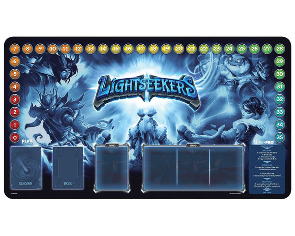 Lightseekers - Playmat - Blue Burst