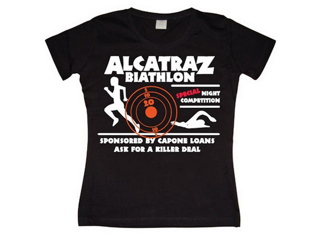Alcatraz Biathlon Girly T-shirt