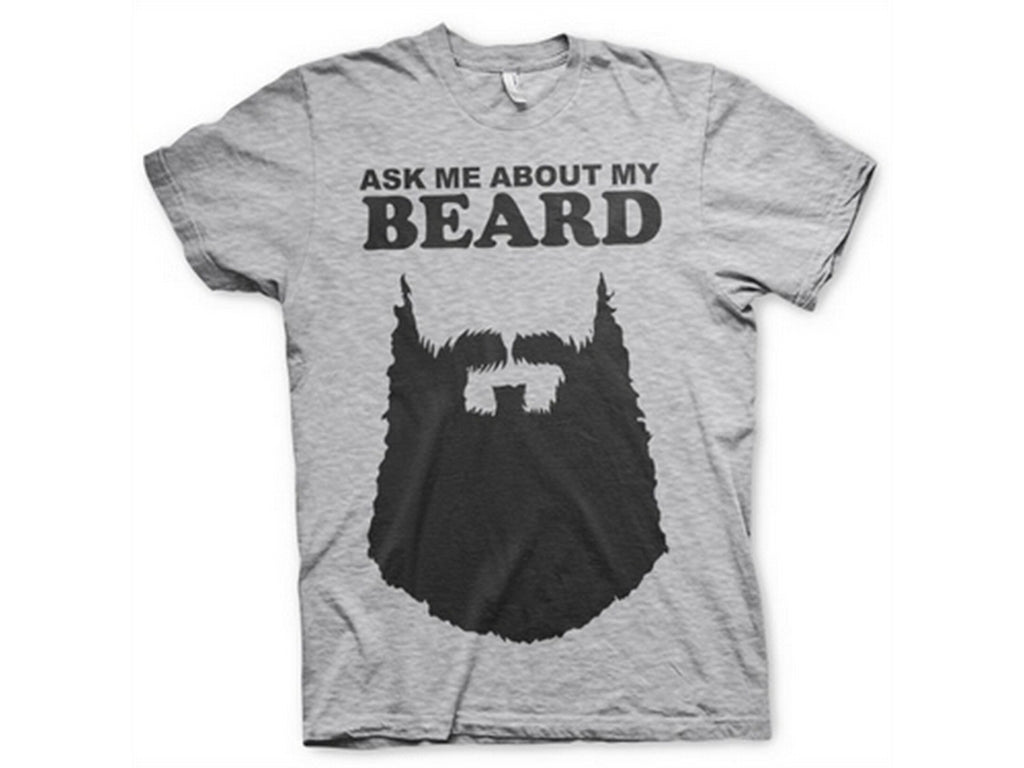 Ask Me About My Beard T-Shirt