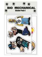 Bio Mechanical Sticker Pack 1