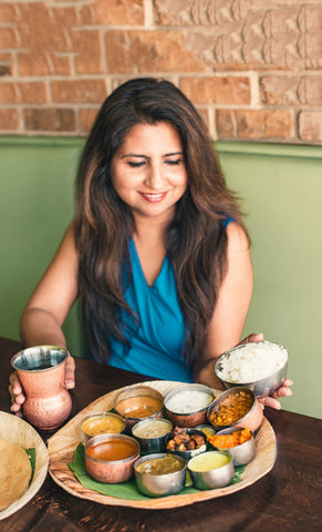 Experience best Indian food in Los Angeles, book through Airbnb and spend time with  Charu Badhwar.