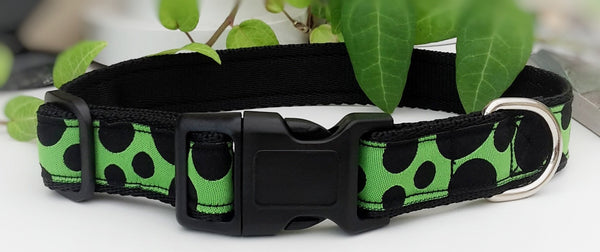 Black spots on Green Dog Collars & Leads