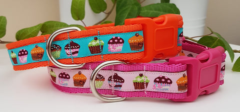 Cupcakes Dog Collars & Leads
