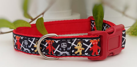 Voodoo dolls Dog Collar / Lead