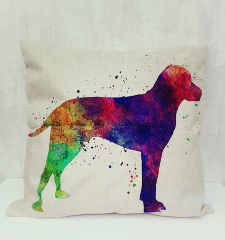 Colour Splash Pointer Cushion Cover
