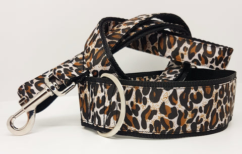 Leaopard print Dog Collars / Leads
