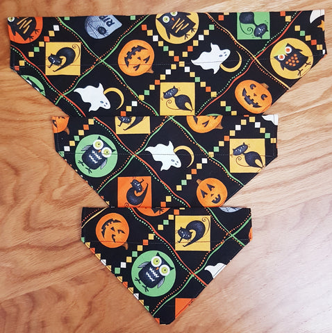 Trick or Treat Dog Bandanas