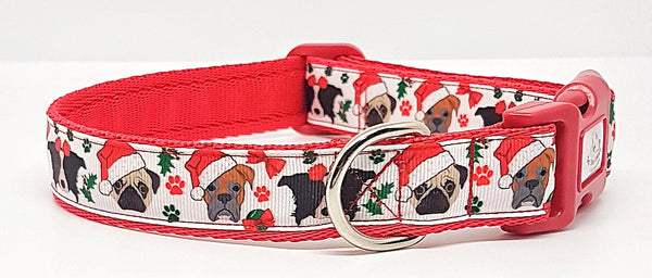 Christmas Dogs Collars & Leads