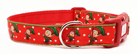 Christmas Elf Collars & Leads
