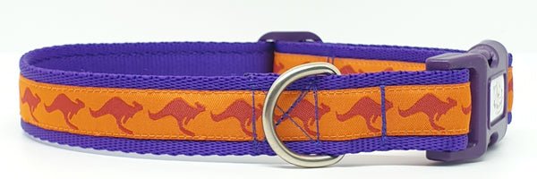 Kangaroo Themed Dog Collars & Leads