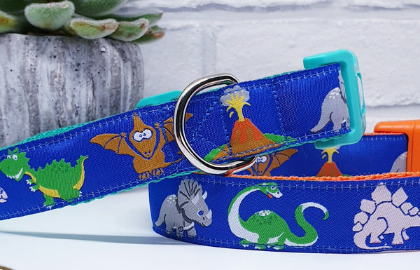 Dino-Paws Dog Collars & Leads