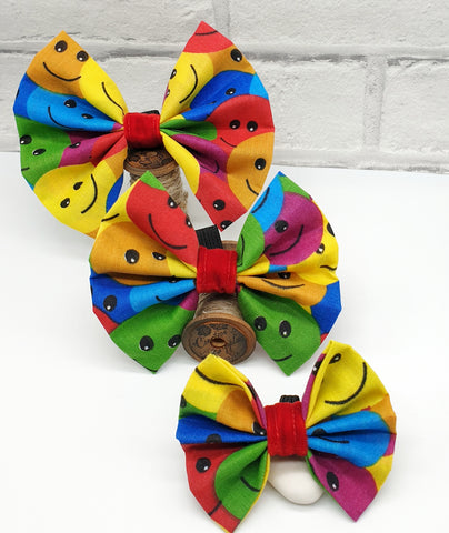 Smiley Face Bow Tie