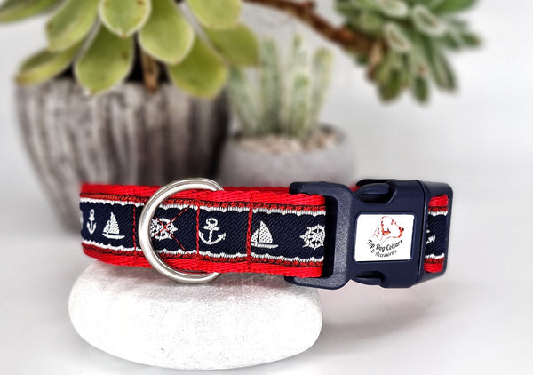 Anchors Away Dog Collars & Leads