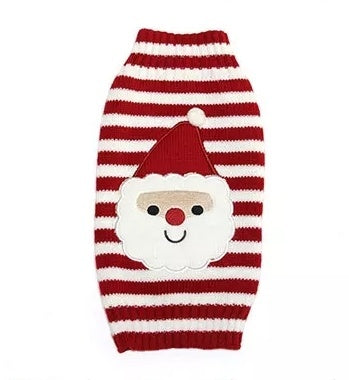 Santa Christmas Dog Jumper