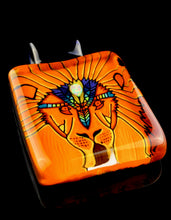 Kevin Murray Sacred Geo Lion Pendant with Opal