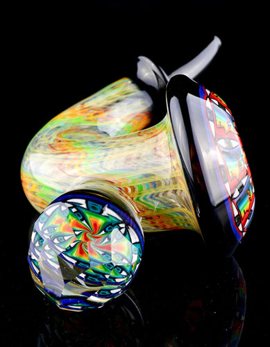 Kevin Murray, JD Maplesden & Grampa Facets UV Mandala Sherlock