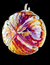 Ron Thomas Cold Worked Pendant with Cross Slices