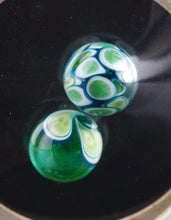 Oddball Glass India Green Opal Dotstack Terp Pearl Pair