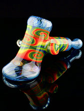 Banjo Rainbow Wigwag Hammer with Eye Milli and Opal Accent