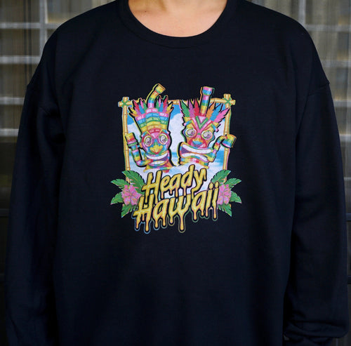 Official Heady Hawaii Fleece Sweaters
