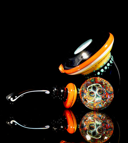 Takao Miyake & Jmass Faceted Dual-Layer Third Eye Skull Sherlock