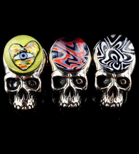 Aquarius Collaboration Silver Skulls (Azul & TK Happa)