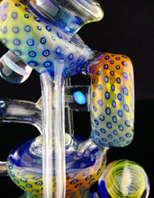 JL Glassworks & Rock Solid UV Fume and Opal Qanat Recycler