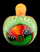 Liberty 503 Tri-Frit Marijuana Leaf Spoon