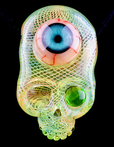 Aquarius & Dosa UV Retti Eyeball Skull