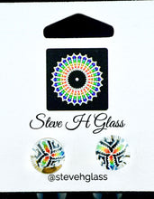 Steve H Rainbow Mandala Milli Stud Earrings