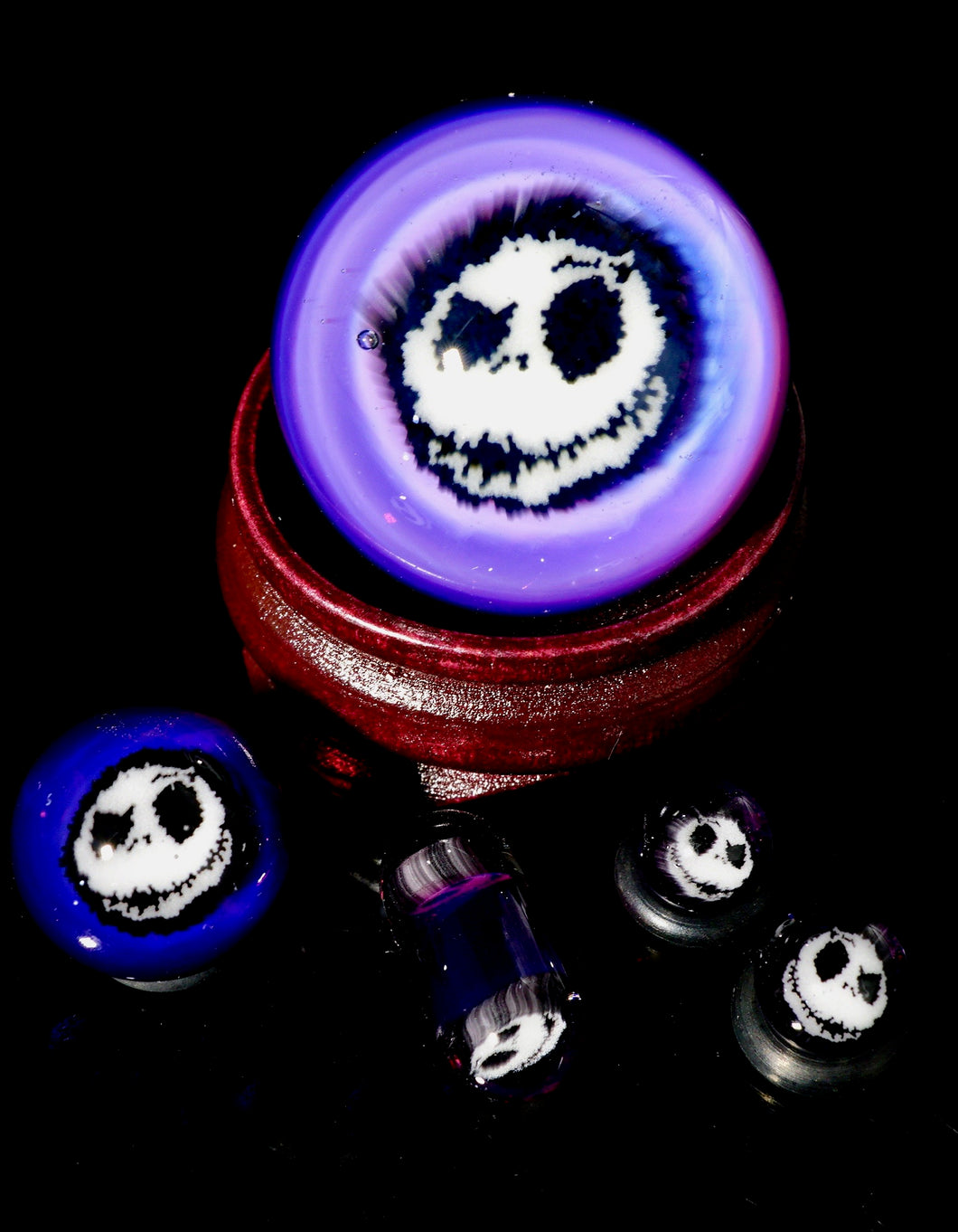 Steve H Royal Jelly Skellington Slurper Set + Marble Stand