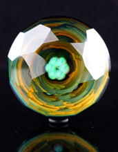 Scoz & Grampa Facets Fume and Facet Implosion Marble with Opal