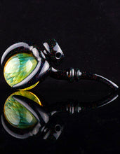 "Scoz & Doc Crushed Opal ""Claw Lock"" with Fumed Spinning Marble"